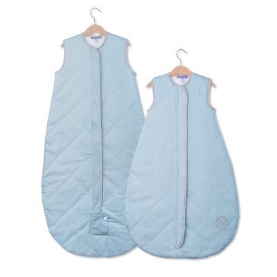 NEW Save Our Sleep, Safe Baby Sleep Bag 'Blue with Platinum Binding' Travel 0.5, 1 TOG or 2.5 TOG