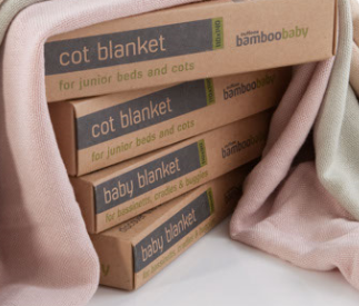 Outlook Bamboo Cot Blanket